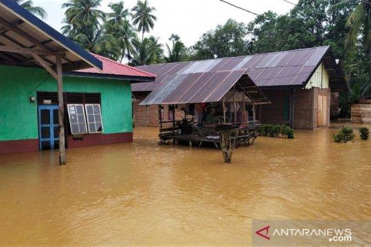 Ratusan rumah terendam banjir di Konawe Kepulauan