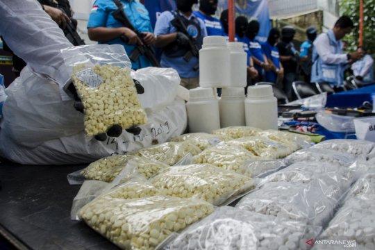 Kasus pabrik narkoba di Bandung
