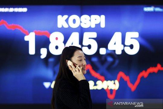 Bursa saham Korsel berakhir turun, hentikan kenaikan tiga hari