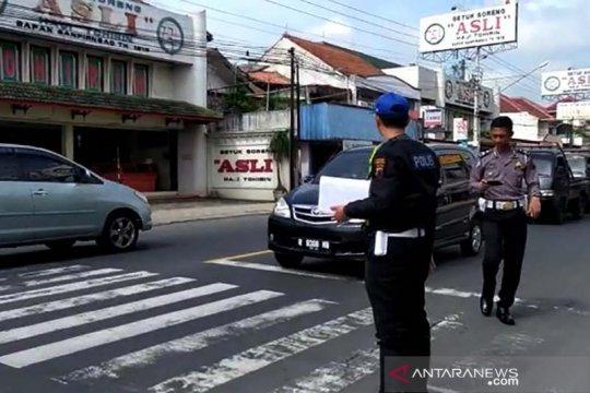 Polisi tetapkan pengemudi mobil Brio sebagai tersangka kecelakaan maut