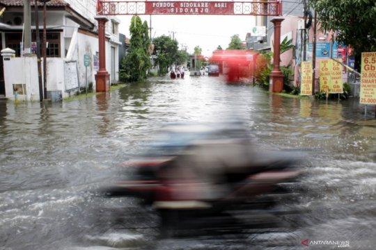 Sejumlah wilayah di Sidoarjo terendam banjir