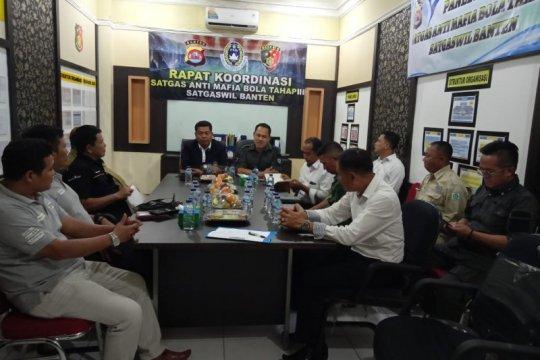 Satgas antimafia bola Polda Banten siap awasi tahapan Liga I