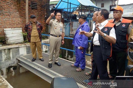 Sudin SDA Jakpus tambah lima pompa stasioner antisipasi banjir