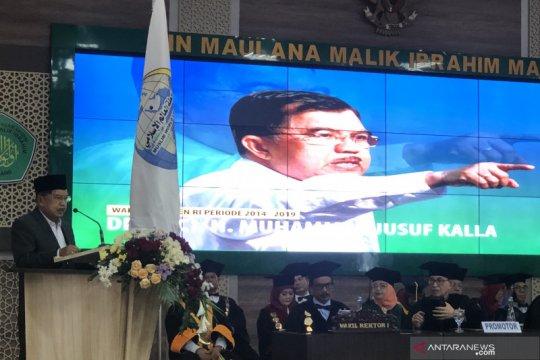 Jusuf Kalla ingatkan Indonesia terus jaga toleransi