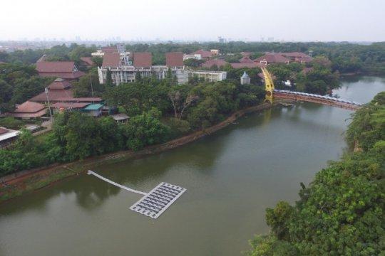 FTUI bangun PLTS Terapung Bifacial pertama di Indonesia