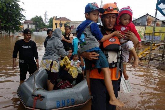 BAZNAS evakuasi korban banjir Jakarta