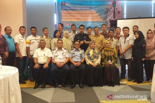 Imigrasi Tanjung Pandan perketat pengawasan WNA dari China