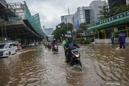 Beberapa gereja Katolik di Jakarta terdampak banjir