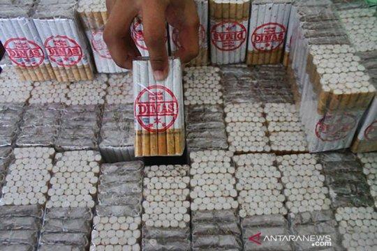 Bea Cukai Malang gagalkan pengiriman ratusan ribu batang rokok ilegal