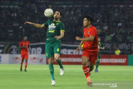 Pelatih: Empat pemain asing Persebaya siap turun di laga pembuka