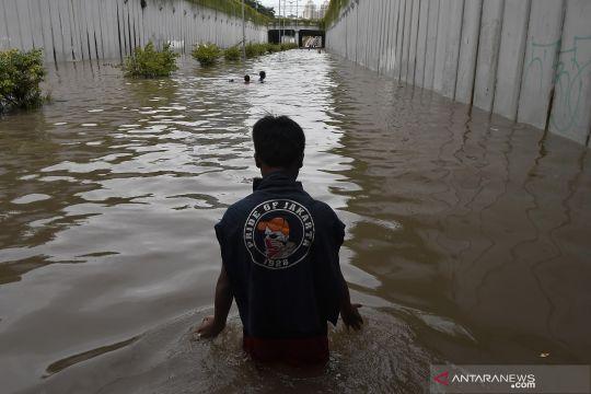 Terowongan Jalan Angkasa jadi kolam bermain anak-anak