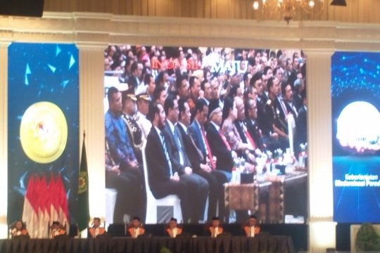 Presiden dan Wapres hadiri sidang pleno MA