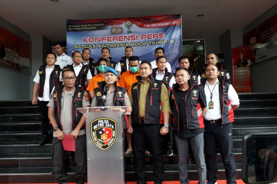 Satgas Antimafia Bola Jilid 3 akan gandeng Puspom TNI