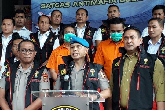 Satgas Antimafia Bola tangkap dua tersangka pengaturan skor