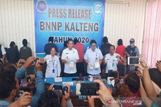 BNNP Kalteng tangkap tiga pemilik sabu seberat 3 kilogram lebih