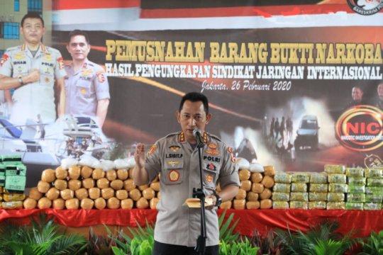 Kabareskrim minta jajaran Polri pastikan keamanan Jakarta selama PSBB