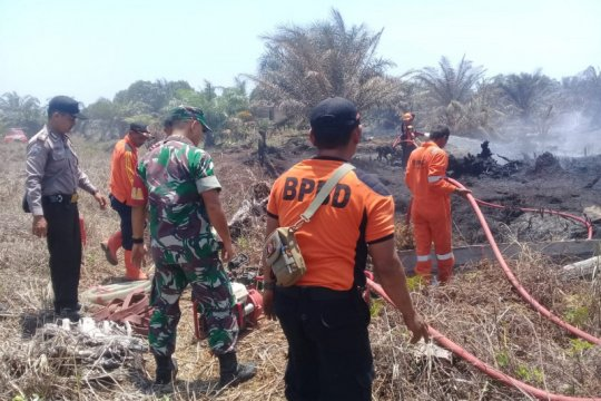 Enam kebakaran lahan di Agam terjadi sepanjang Februari