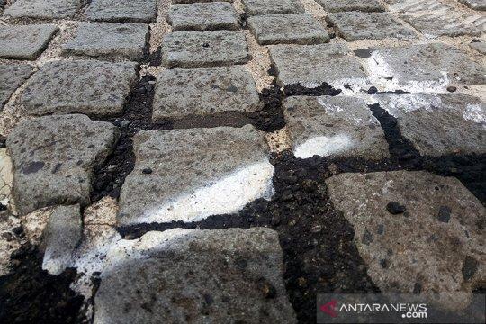 Penyelenggara Formula E sebut aspal uji coba di Monas telah bersih