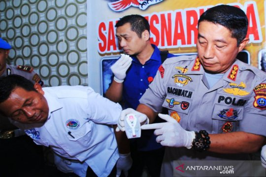 Polresta Banjarmasin musnahkan 2 kilogram lebih sabu-sabu