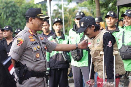 Kapolrestabes Makassar jadi bapak asuh mitra Gojek