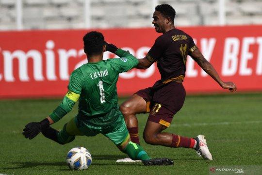 Osas Saha tegaskan masih berseragam PSM Makassar