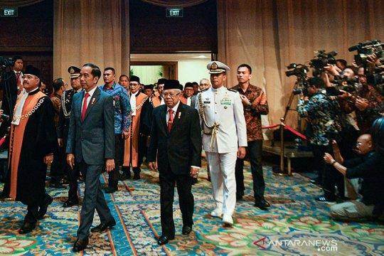Di depan Presiden, Ketua paparkan peran MA bantu pertumbuhan ekonomi