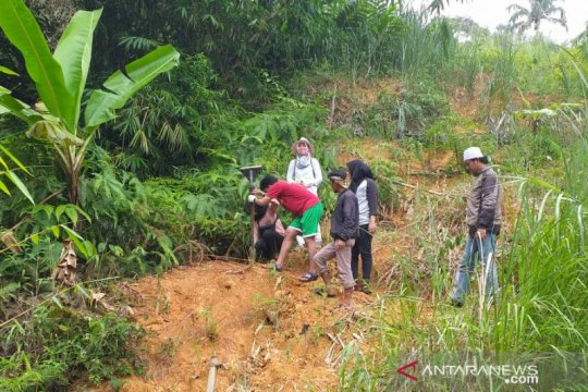 BPBD dan BPCB Banten antisipasi longsor di Gunung Padang