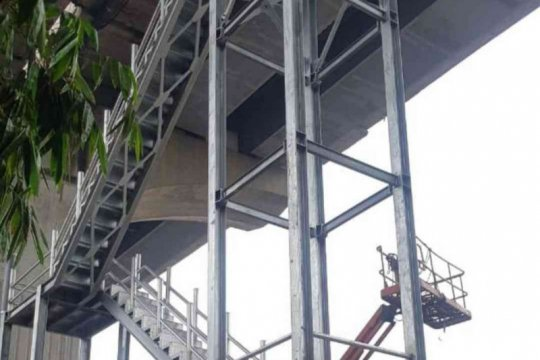 Jasa Marga targetkan tangga darurat Japek Layang selesai akhir bulan