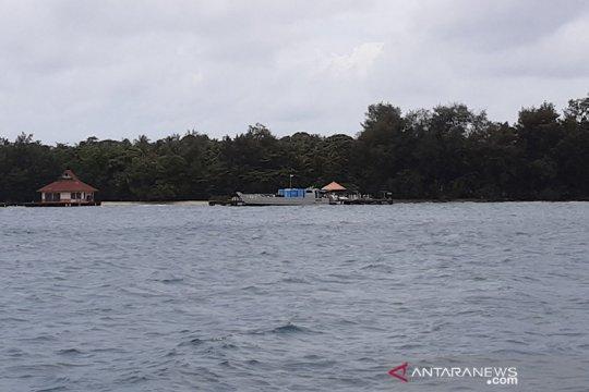 Panglima TNI tiba di Pulau Sebaru