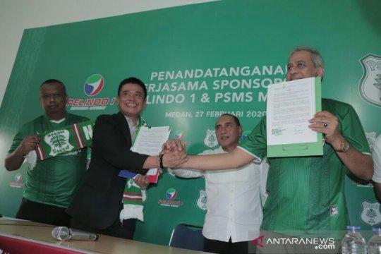 Pelindo 1 sponsori PSMS arungi kompetisi Liga 2 Indonesia