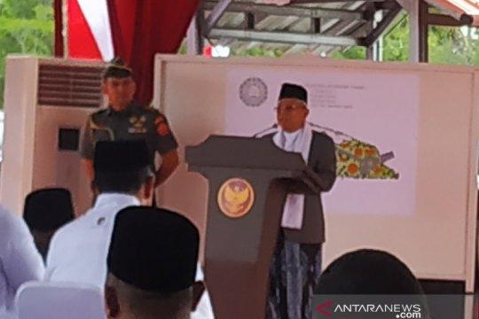 Wapres: Pesantren An-Nawawi diharapkan cetak ulama besar