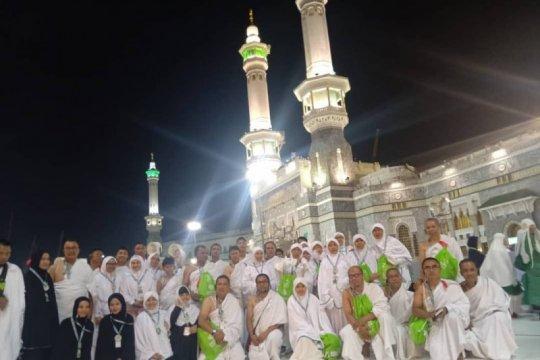 Jamaah umroh di Mekah: Aman-aman saja