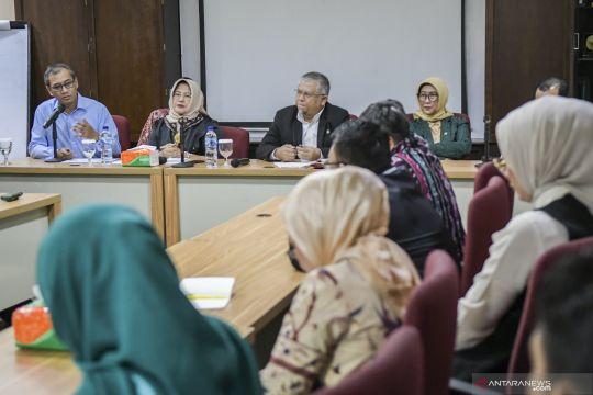 Kunjungan Komisi IX DPR ke Perum LKBN ANTARA