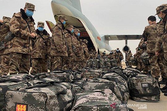 Komando Militer Tibet gelar simulasi perang