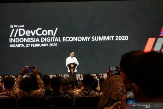 Presiden Jokowi harap Indonesia bukan hanya konsumen teknologi