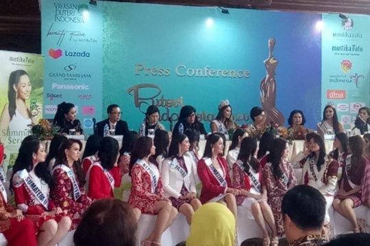 39 finalis Puteri Indonesia dapat pembekalan antikorupsi