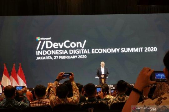 Microsoft ingin kembangkan talenta digital Indonesia