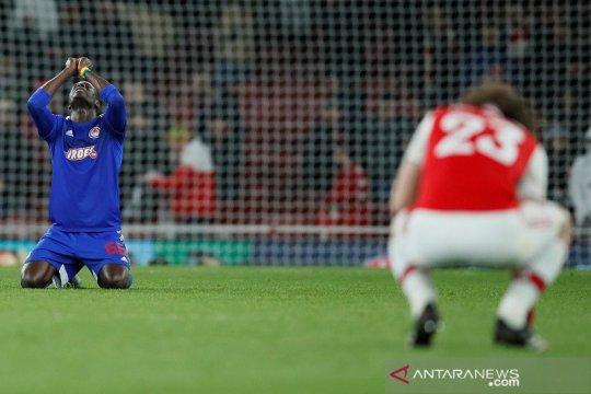 Hasil 32 besar Liga Europa: Arsenal terhenti dramatis oleh Olympiakos