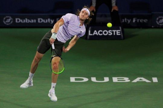 Tsitsipas tantang Evans di semifinal Dubai Open 2020