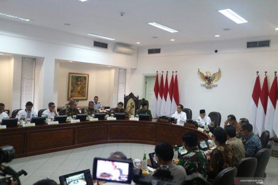 Presiden pimpin Rapat Terbatas Pengembangan Pusat Data Nasional