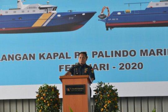 Kapal pengawas baru KKP mulai dibangun di Batam