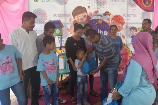 Dompet Dhuafa-Resto Brotus bantu empat panti asuhan di Kupang-NTT