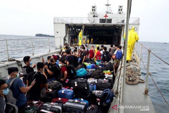 Pemerintah mulai observasi 188 WNI asal kapal World Dream