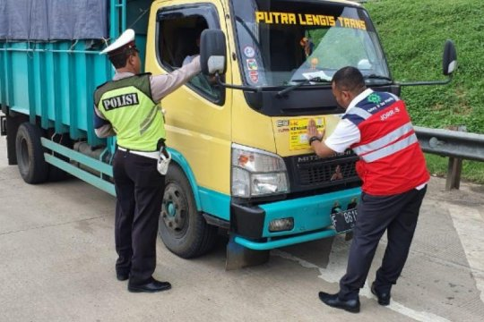 Hutama Karya akan terus razia kendaraan kelebihan beban di ruas tolnya