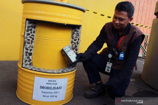 Batan simpan 906 drum limbah radioaktif dari Perumahan Batan Indah