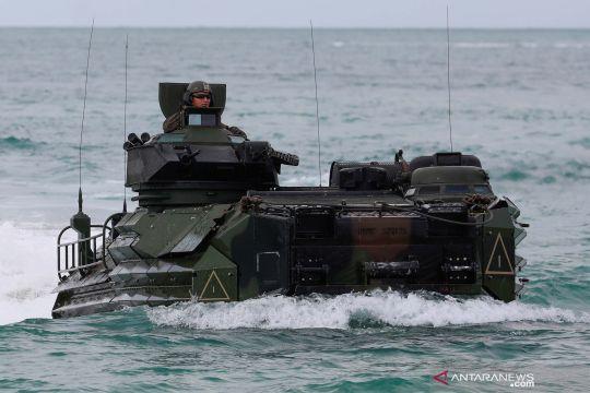 Latihan bersama militer multilateral di Thailand