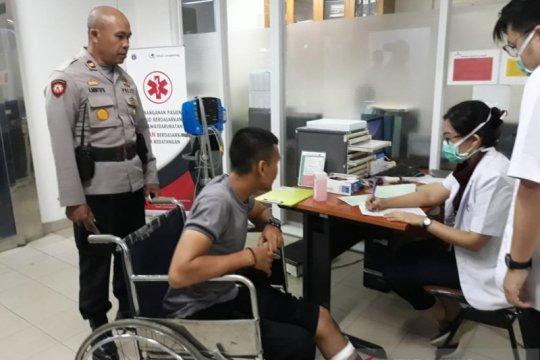 Polisi ditikam saat lerai tawuran di Daan Mogot