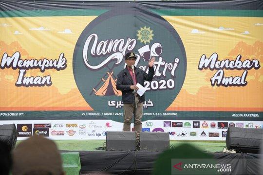 Ridwan Kamil gandeng santri menanam 50 juta bibit pohon