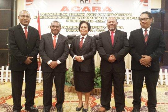 Ketua Komisi Informasi Provinsi Papua 2019-2023 dijabat Wilhemus Pigai