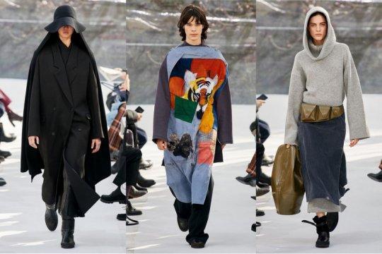 Kenzo tampilkan koleksi minimalis bernuansa kaum nomaden Asia